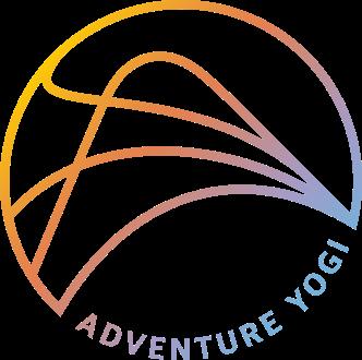 Adventure Yogi stamp logo