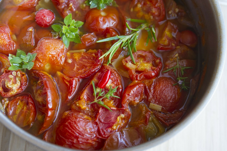 Warming Recipe with Tomatoes