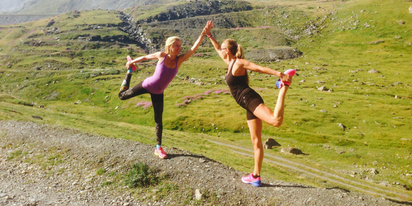 Wenche and Guest Dancers Pose in French Alps