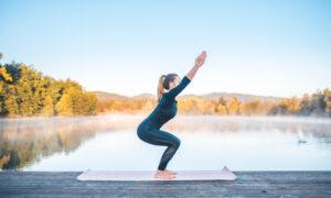 yoga chair pose
