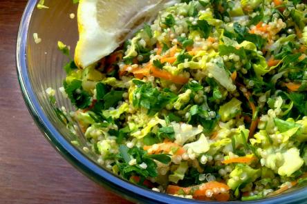Lemon and Herb Tabbouleh Recipe