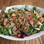 Tasty healthy salad clean living cooking course