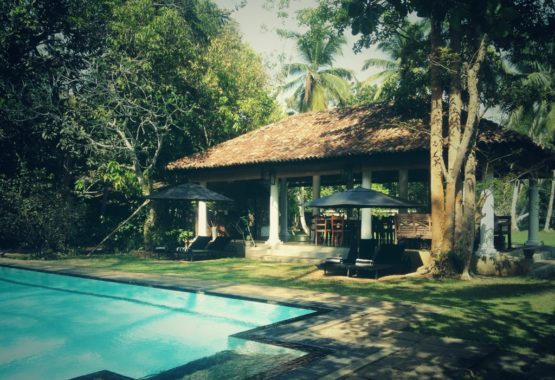 Swimming pool yoga retreat sri lanka yoga