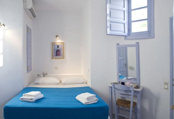 single or double bedroom santorini