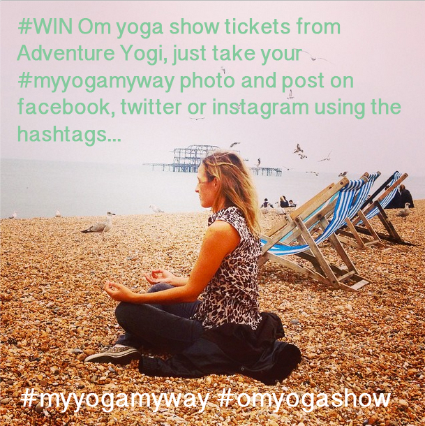 Win Om Yoga Show London 2014 Tickets