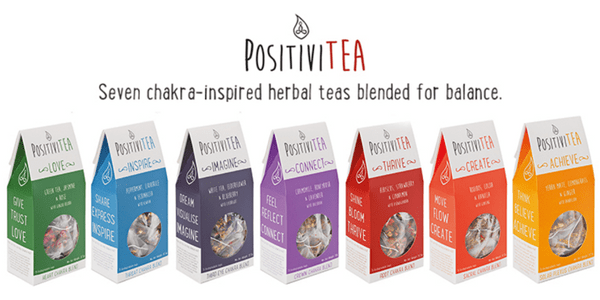 Positivitea Chakra Teas