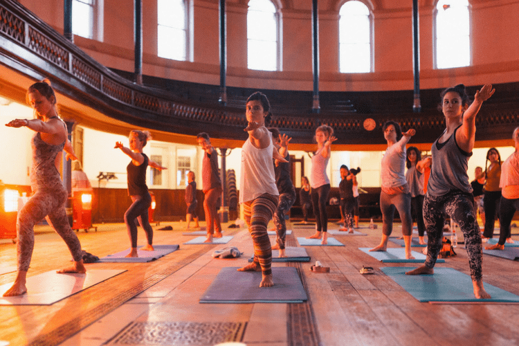 Pop-Up Yoga Sprouted Supper Soiree