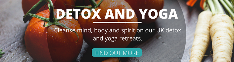 Detox and Yoga Banner