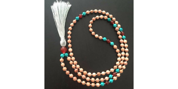 Summer Solstice Mala Necklace