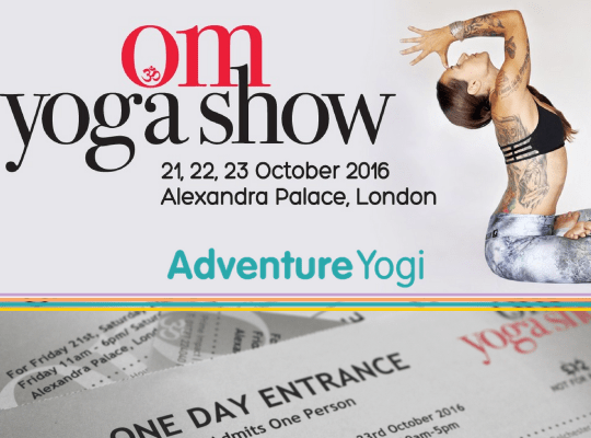 Win Tickets to the Om Yoga Show – London 2016