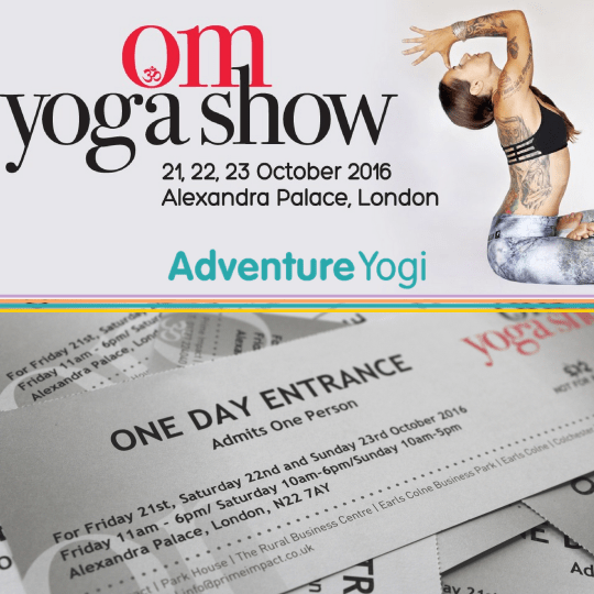 Om Yoga Show Facebook Competition