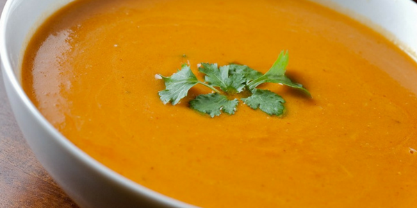 Squash and Sweet Potato Soup