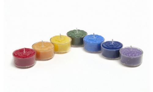 Chakra Candle Set