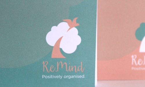 Re.Mind Dove Notebook