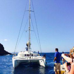 yacht for the day santorini