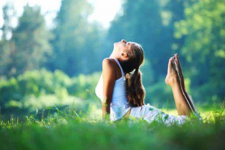 Nourishing Yoga Pose