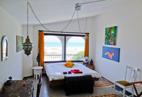 Light-room-double-bed-morocco
