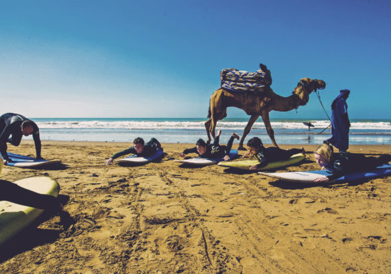 Surfing and Yoga – Morocco