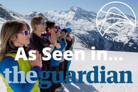 AdventureYogi as Seen in The Guardian