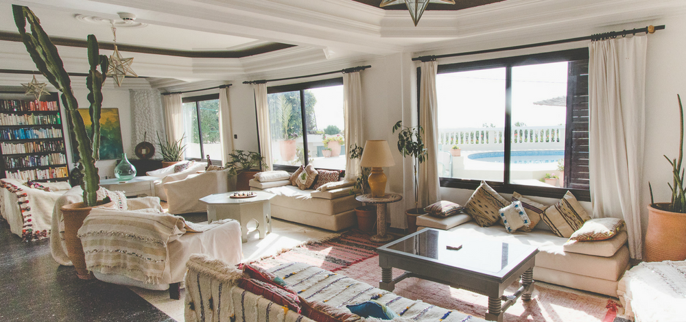 Morocco Venue Living space
