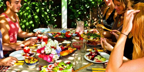 Alfresco Dining Morocco