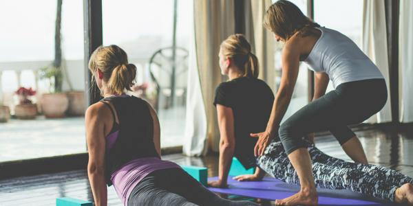 Yoga Class Morocco