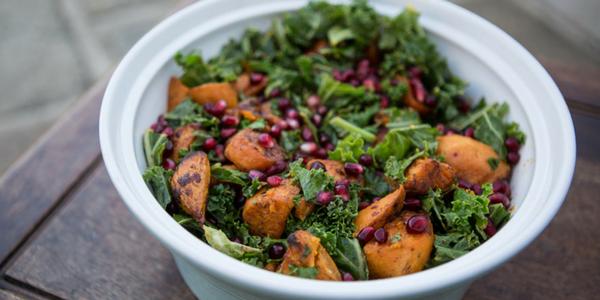Sweet Potato Kale Dish