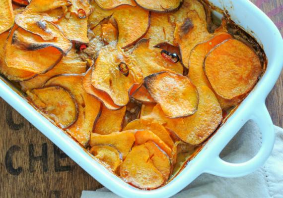 Adzuki Bean & Sweet Potato Bake (Vegan & Gluten Free Recipe)