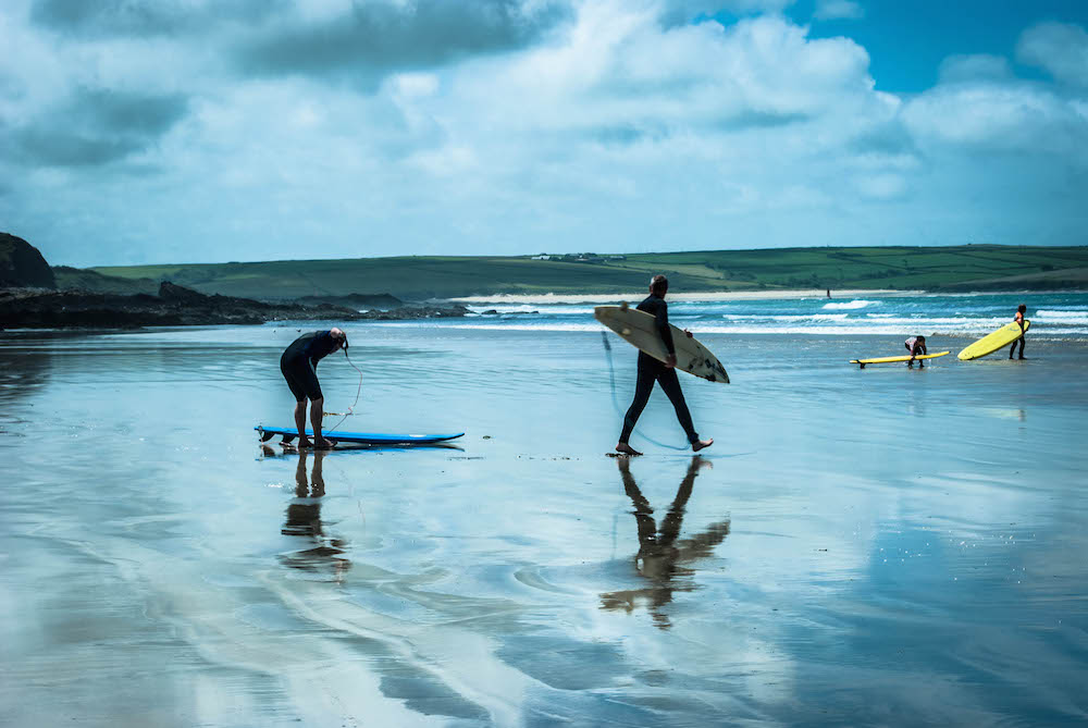 Surf and Yoga retreat in Cornwall