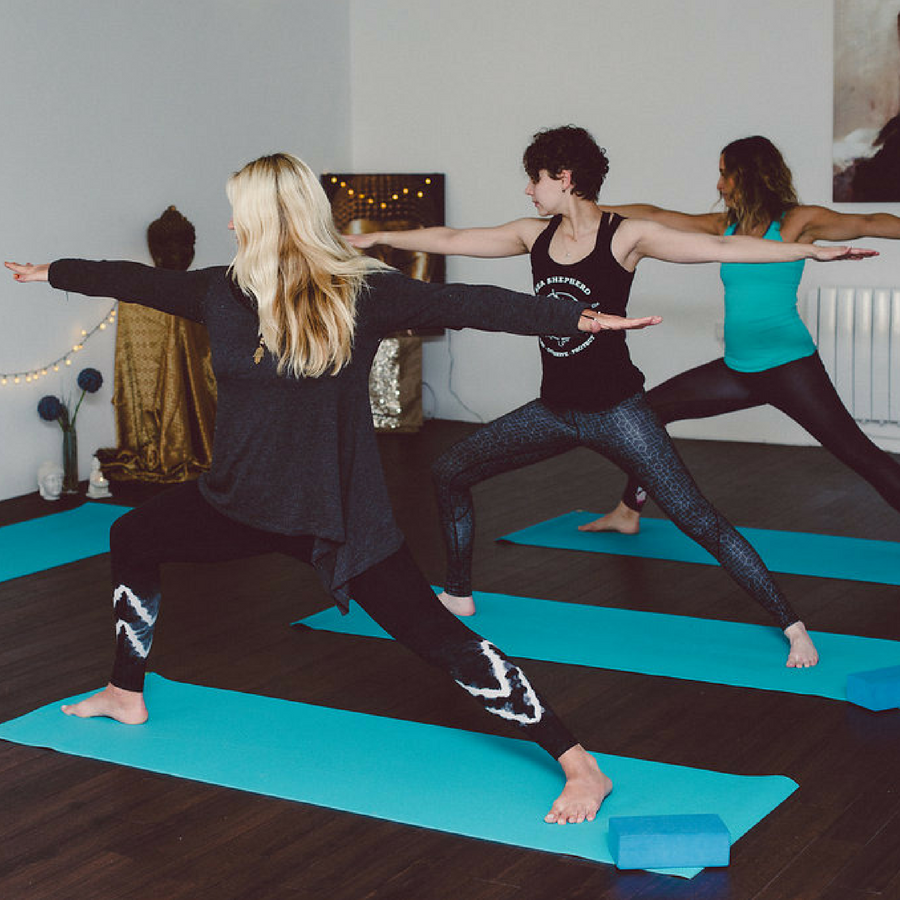 Warrior Pose Yoga Class East Sussex