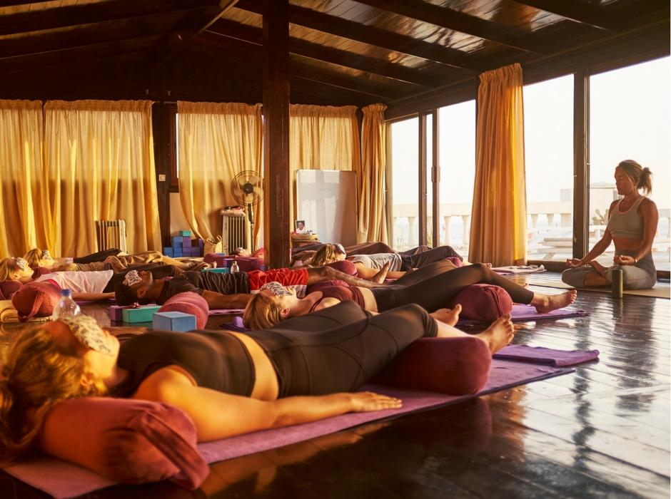 savasana morocco yoga surf