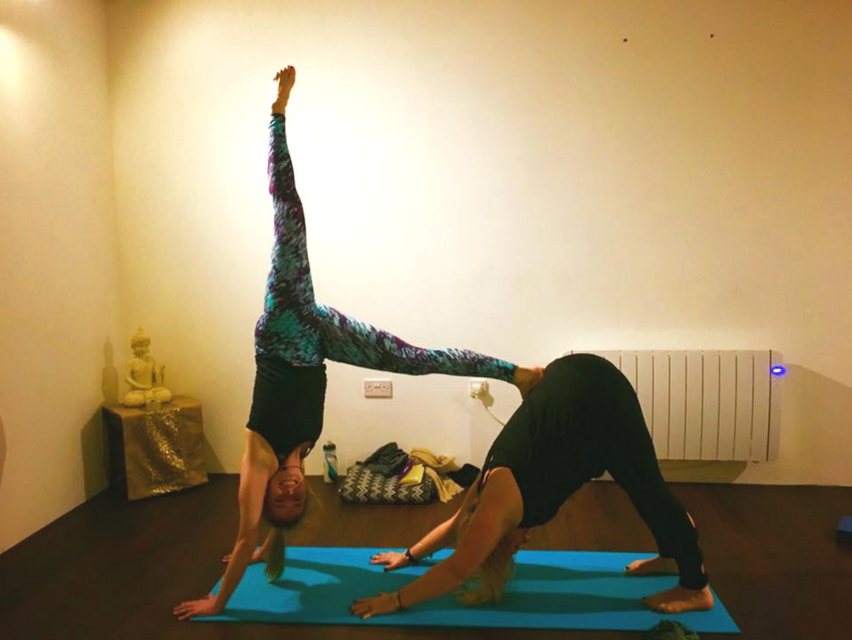 Intermediate Retreat Pair Yoga