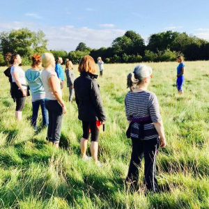 Silent Meditation Walk in Thrupp