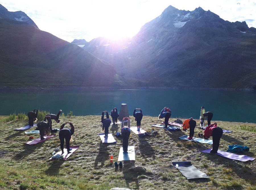 Exhilarating Hiking and Yoga holiday in the French Alps
