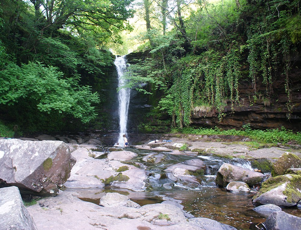 Talybont Waterfalls Brecon Beacons