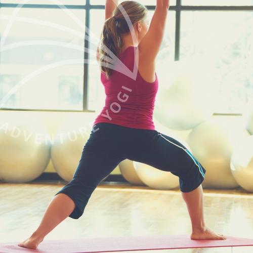 5 yoga poses keep grounded christmas
