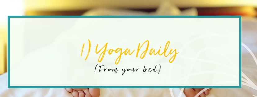1) Yoga Daily, From Your Bed