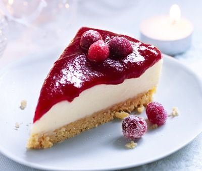 Mulled Berry Cheesecake