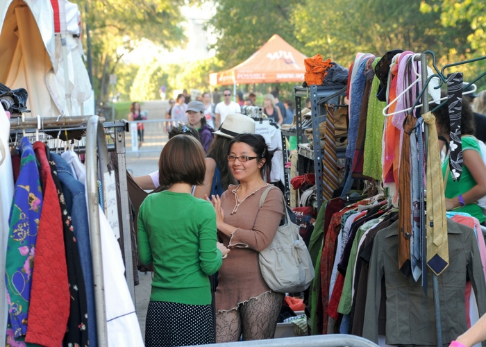 charity shopping second hand clothes 7 ways towards zero waste