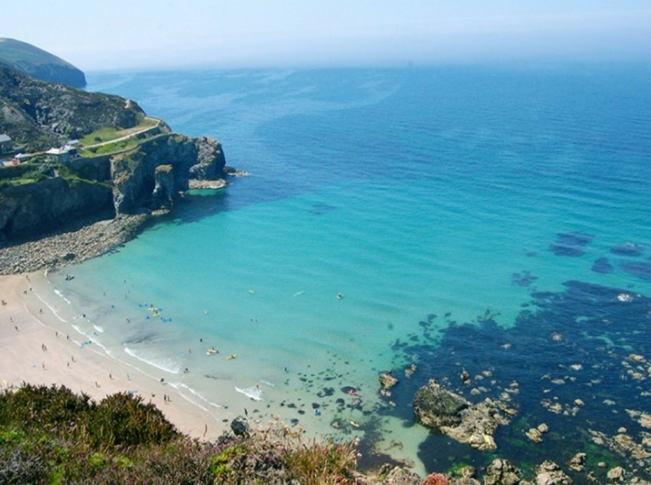 St Agnes beach Cornwall