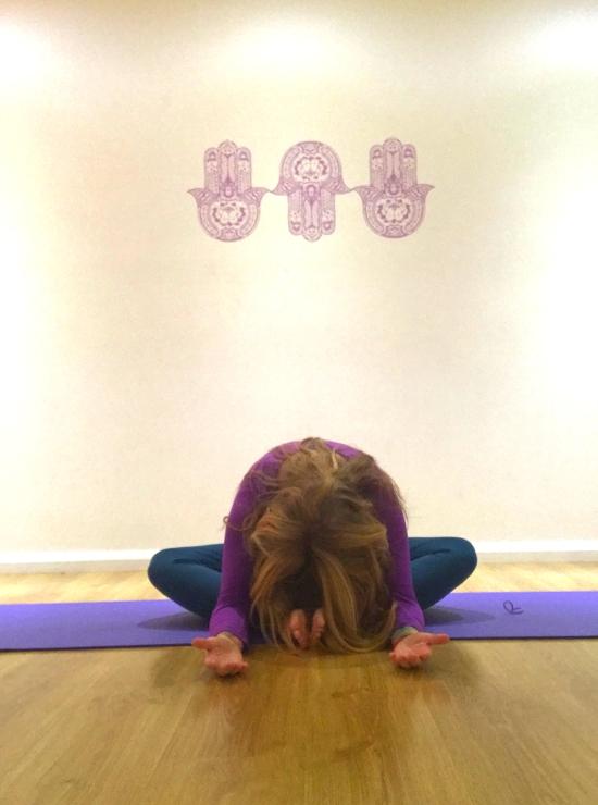 Butterfly yin yoga pose yin yoga helps burnout
