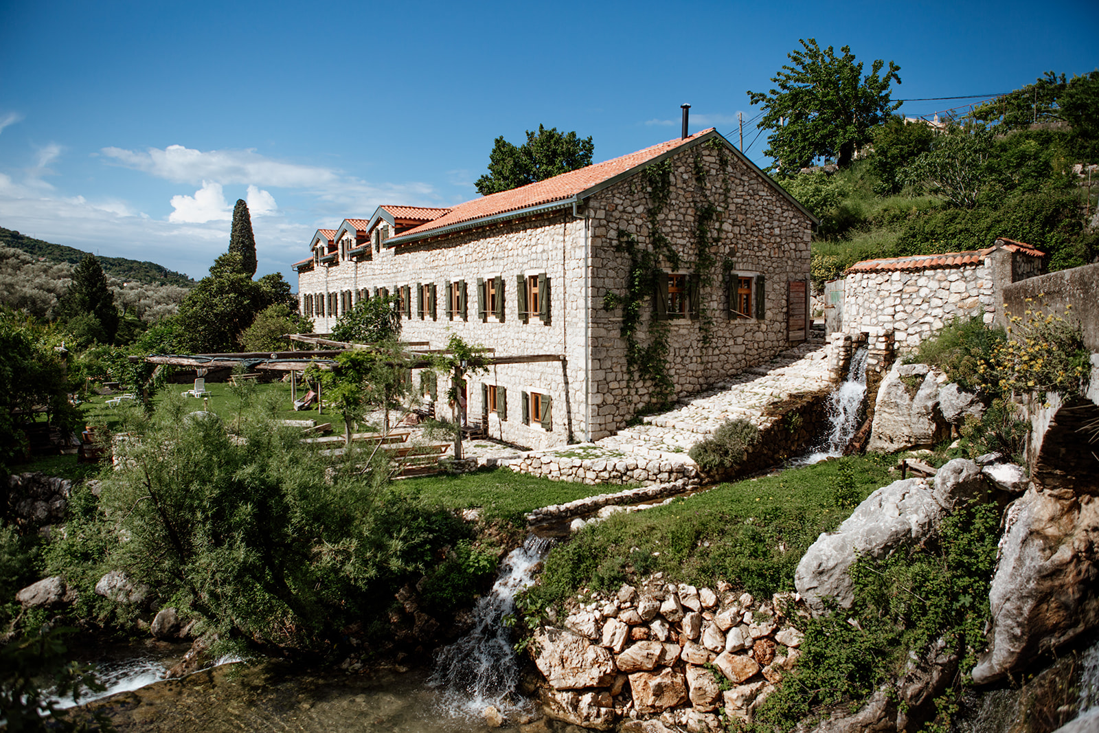 venue in sunshine hiking yoga holiday montenegro
