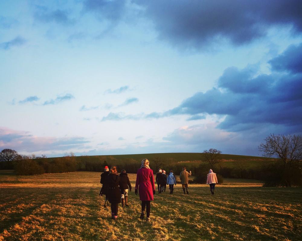 walk-through-fields