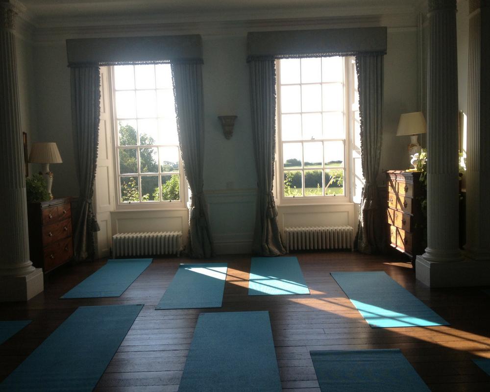 yoga room mats sunshine