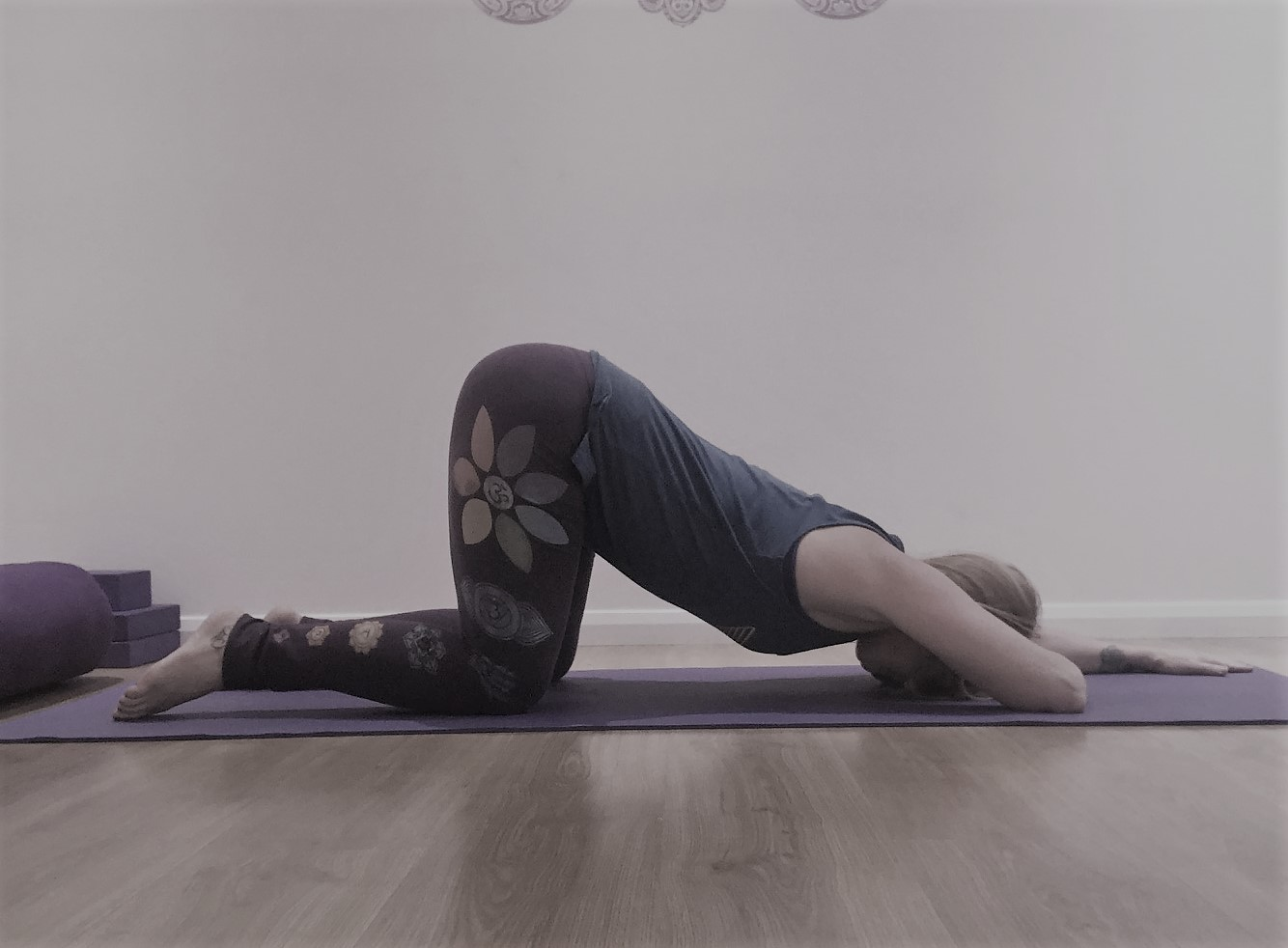 melting heart yin yoga pose
