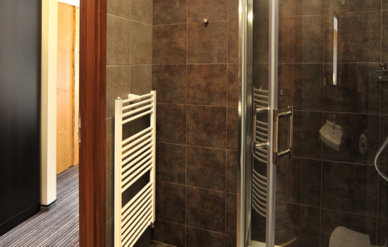 Bathroom shower skiing yoga holiday Jasna Slovakia