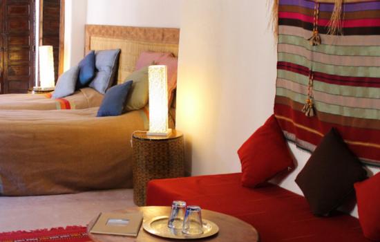 bedroom yoga holiday Marrakech