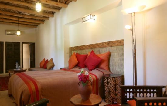 double bedroom yoga holiday Marrakech
