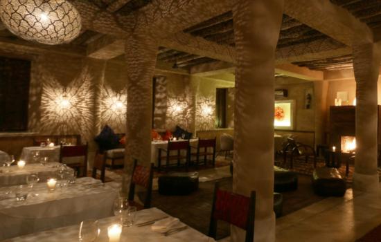 dining area Marrakech