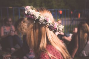 Beautiful Summer Solstice Flower Crowns